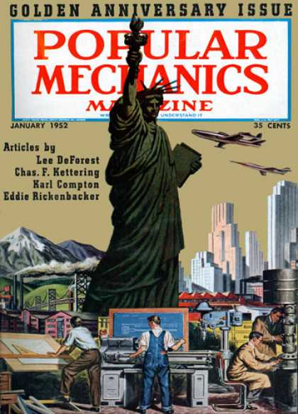 Popular Mechanics - January, 1952