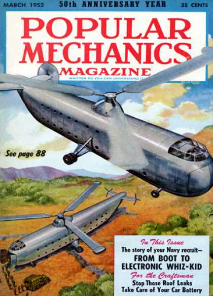 Popular Mechanics - March, 1952