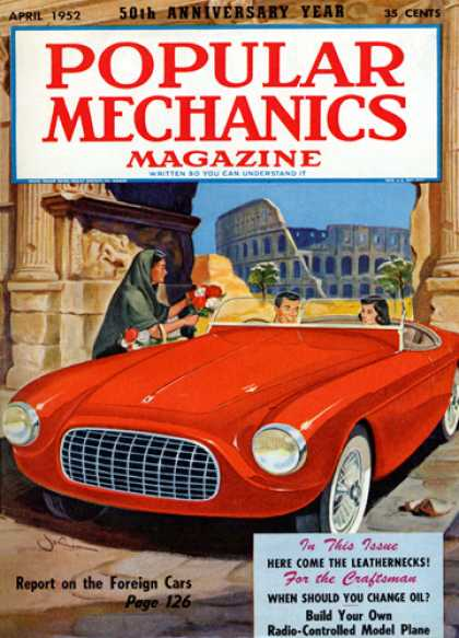 Popular Mechanics - April, 1952