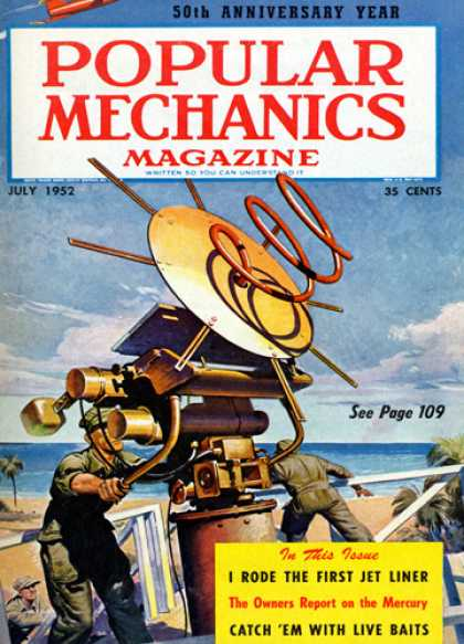 Popular Mechanics - July, 1952