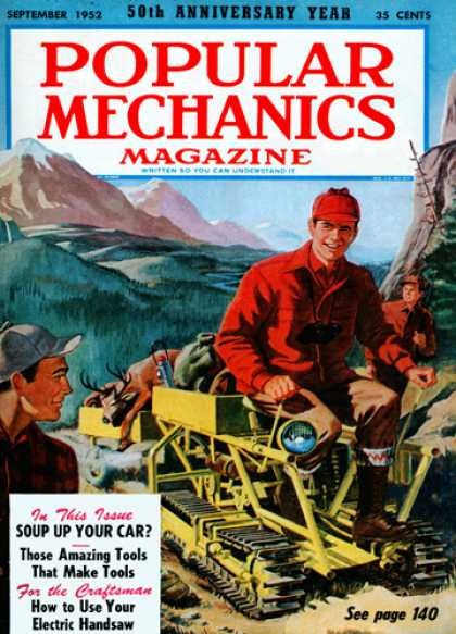 Popular Mechanics - September, 1952