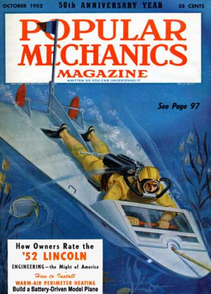 Popular Mechanics - October, 1952