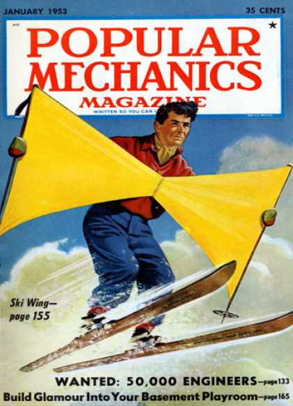 Popular Mechanics - January, 1953