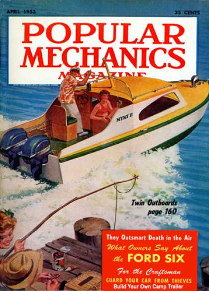 Popular Mechanics - April, 1953