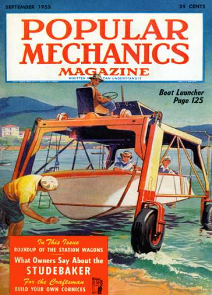 Popular Mechanics - September, 1953