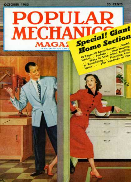 Popular Mechanics - October, 1953