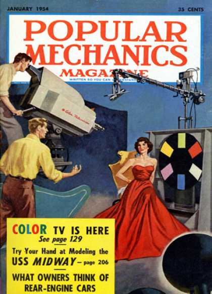 Popular Mechanics - January, 1954