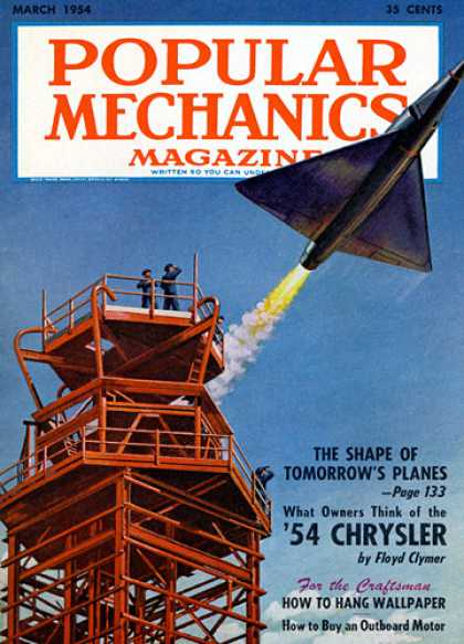 Popular Mechanics - March, 1954