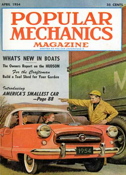 Popular Mechanics - April, 1954