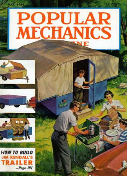Popular Mechanics - May, 1954