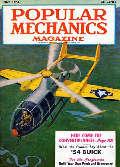 Popular Mechanics - June, 1954