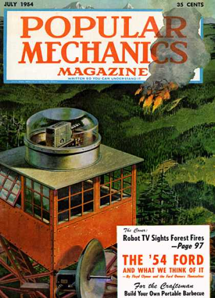 Popular Mechanics - July, 1954