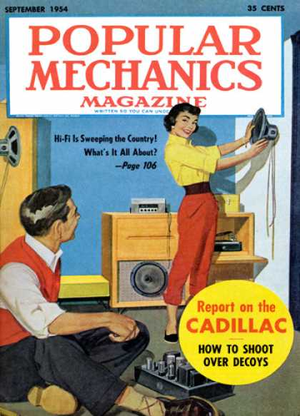 Popular Mechanics - September, 1954
