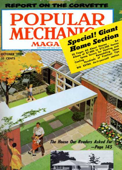 Popular Mechanics - October, 1954