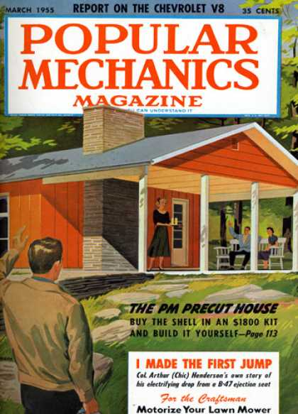 Popular Mechanics - March, 1955