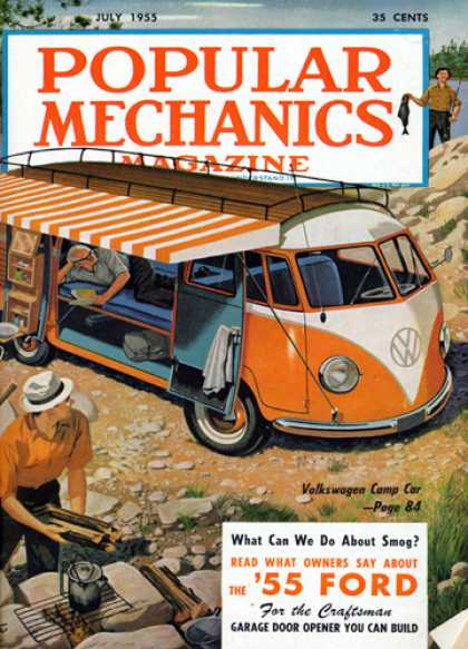 Popular Mechanics - July, 1955
