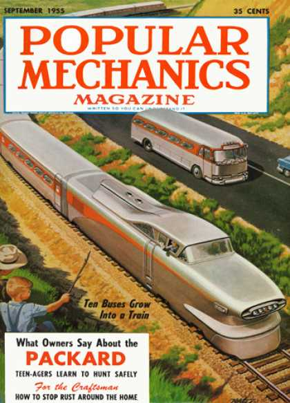 Popular Mechanics - September, 1955