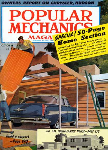 Popular Mechanics - October, 1955