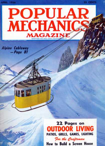 Popular Mechanics - April, 1956