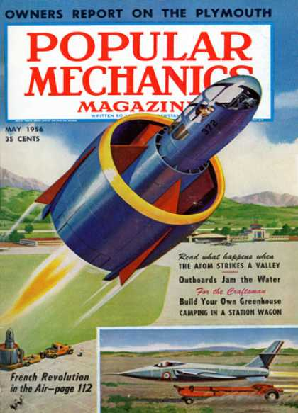 Popular Mechanics - May, 1956