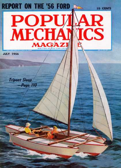 Popular Mechanics - July, 1956