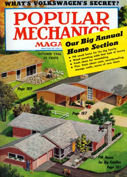 Popular Mechanics - October, 1956