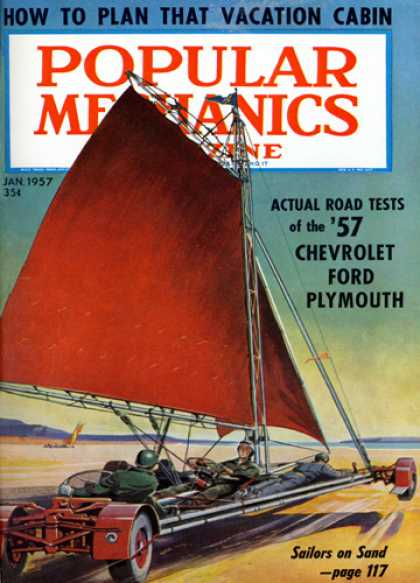 Popular Mechanics - January, 1957