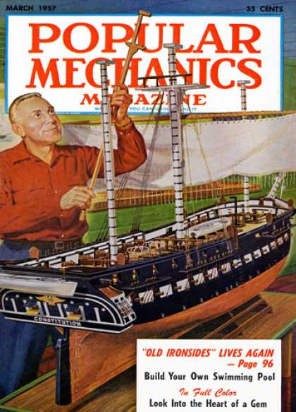 Popular Mechanics - March, 1957