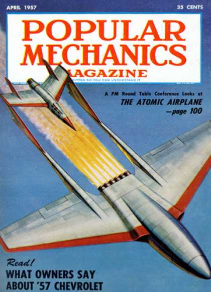 Popular Mechanics - April, 1957