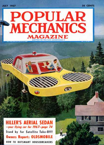 Popular Mechanics - July, 1957
