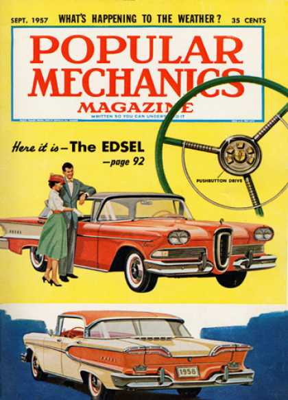 Popular Mechanics - September, 1957