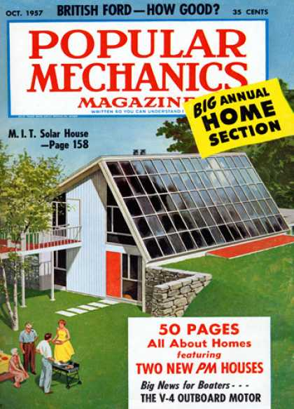 Popular Mechanics - October, 1957