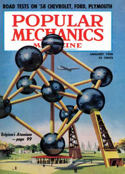 Popular Mechanics - January, 1958