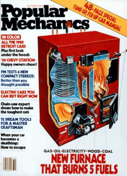 Popular Mechanics - October, 1979