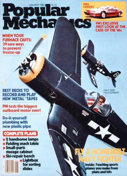 Popular Mechanics - January, 1980
