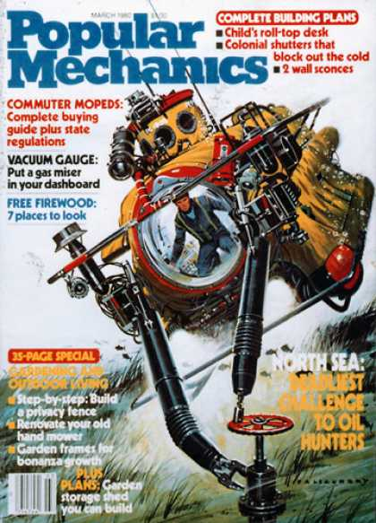 Popular Mechanics - March, 1980