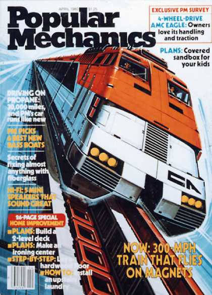 Popular Mechanics - April, 1980