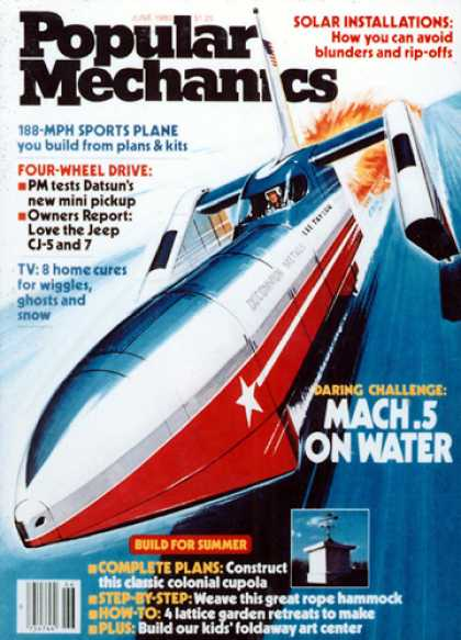 Popular Mechanics - June, 1980