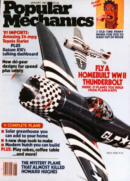 Popular Mechanics - January, 1981