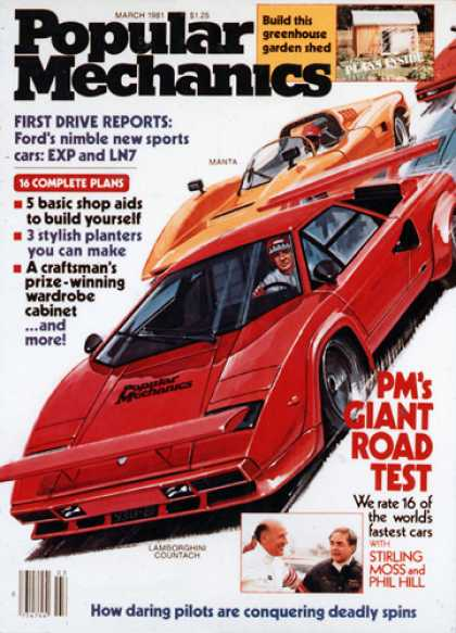Popular Mechanics - March, 1981