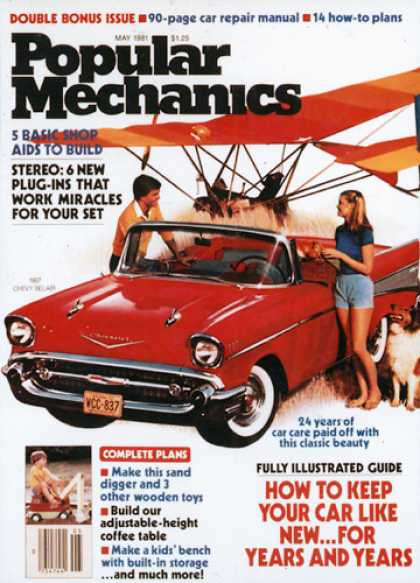 Popular Mechanics - May, 1981
