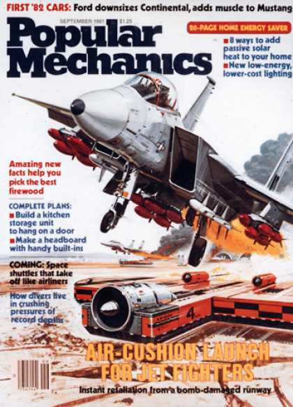 Popular Mechanics - September, 1981