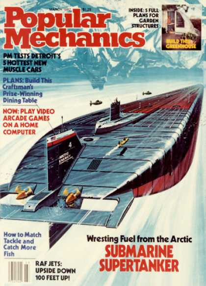 Popular Mechanics - March, 1982