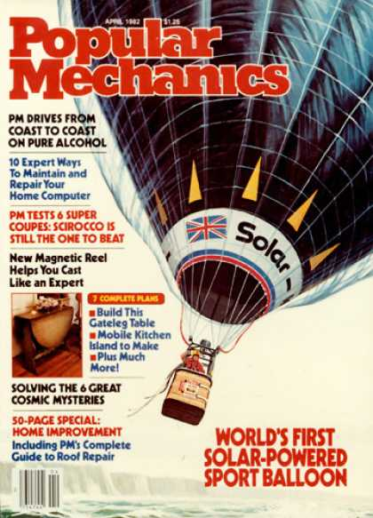 Popular Mechanics - April, 1982