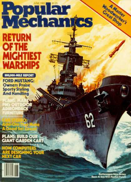 Popular Mechanics - June, 1982