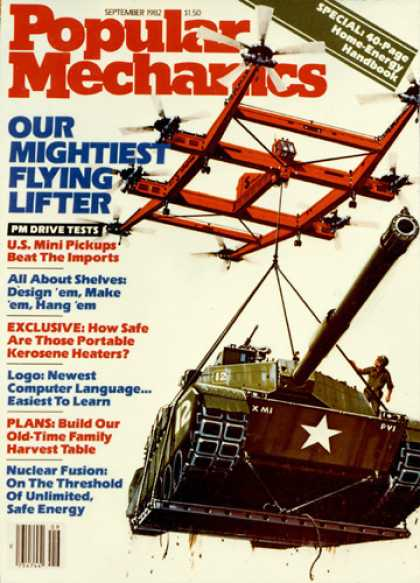 Popular Mechanics - September, 1982