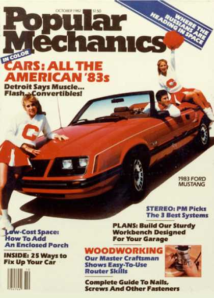 Popular Mechanics - October, 1982