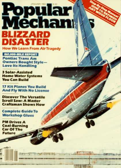 Popular Mechanics - January, 1983