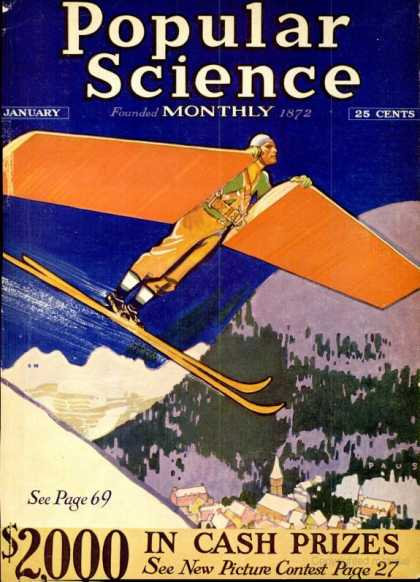 Popular Science - Popular Science - January 1931