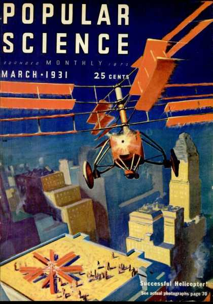 Popular Science - Popular Science - March 1931